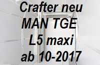 Crafter neu - MAN TGE L5 Einzelteile