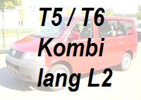 VW T5 T6 Kombi lang L2