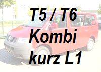 VW T5 T6 Kombi kurz L1