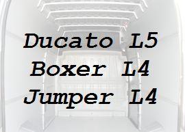 Boxer Jumper L4 Ducato L5