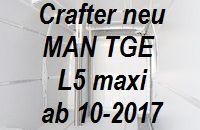 Crafter neu - MAN TGE extralang L5