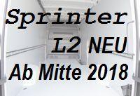 Sprinter neu - Standard L2