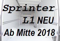 Sprinter neu - Kurz L1