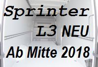 Sprinter neu - Lang L3