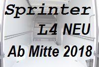 Sprinter neu - Extralang L4