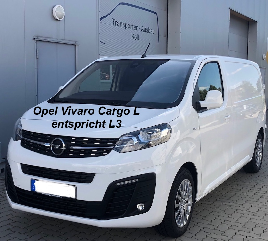 Opel Vivaro Cargo L, entspricht L3
