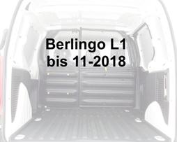 Citroen Berlingo alt L1 (kurz)  bis 11-2018