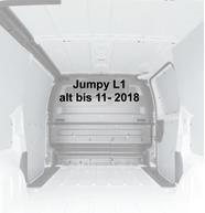 Citroen Jumpy L1 - alt bis 11-2018