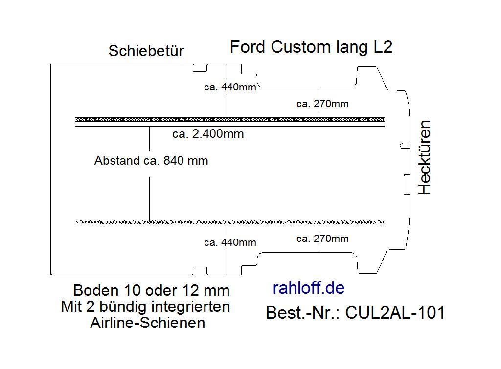 Custom Boden mit integrierter Ladungssicherung