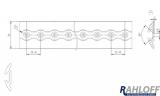Movano NV400 Master Zurrleisten zur Ladungssicherung - L2