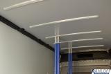 3 x Airlineschiene zur Dachmontage für Sperrbalken