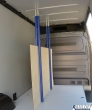 Sperrbalken max. 246 cm zur Ladungssicherung. Zum einkürzen
