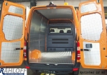 Movano NV400 Master Seitenverkleidung aus Aluminium - L1 kurz