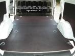 Hyundai H1 Bodenplatte mit Siebdruck-Beschichtung