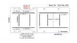 Jumper Boxer L4 Ducato L5 Bodenplatte mit 9 Zurrleisten längs und quer - T203