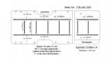 Sprinter Crafter Boden mit 11 Zurrleisten längs und quer - L4 T203