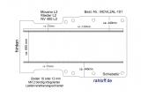 Movano NV400 Master Boden mit 2 Zurrschienen längs - L2 - T101