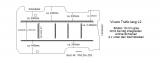 Trafic Vivaro Boden mit 6 Zurrschienen längs und quer - L2 alt T203