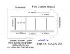 Custom Boden mit 6 Zurrleisten längs + quer - L2 lang T203