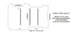 Vivaro Trafic Boden mit 3 ZUrrschienen quer - L1 alt T201