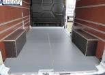 Transit  Boden aus Holz mit Siebdruck - Beschichtung - L3 Fzg. mit Frontantrieb