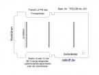 Transit Bodenplatte mit 3 Zurrleisten quer - L2 FR T201