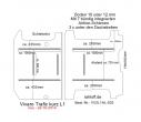 Vivaro Trafic NV300 Talento Boden mit 7 Zurrschienen längs und quer - L1 kurz T203