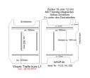 Vivaro Trafic NV 300 Talento Boden mit 7 Zurrschienen längs und quer - L1 kurz T205
