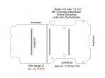 Vito Boden 3 Airline Schienen unter d. Dachstreben (L2 neu T201)