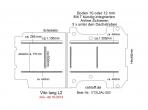 Vito Boden 7 Airline Schienen längs + quer (L2 neu T203)