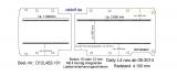 Daily Bodenplatte mit 4 Zurrschienen längs - L4 T101