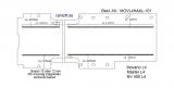 Master NV400 Movano Bodenplatte mit 4 Ladungssicherungs-Schienen länga - L4 extralang T101