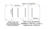 Daily Bodenplatte mit 4 Ankerschienen quer - L3 - T201