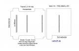 Transit Boden mit 4 Zurrleisten quer - L3 mit Heckantrieb T201