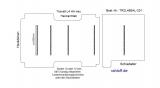 Transit Boden mit 5 Ladungssicherungs- Schienen quer - L4 - T201