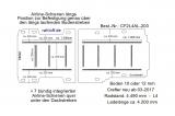 Crafter - MAN TGE Bodenplatte mit 11 Zurrleisten längs und quer - L4  T203