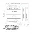 Connect Boden mit 7 Zurrleisten längs + quer - L1 kurz 207