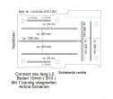 Connect Boden mit 7 Zurrchienen längs + quer - L2 lang 207
