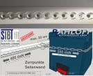 MAN TGE - Crafter Airline-Zurrleisten L5 Mit Zertifizierung DIN ISO 27956: 2011 - bis 200 daN