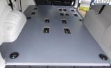 T5 - T6 Kombi Bodenplatte mit Löchern für die Sitzaufnahmen ---- Ohne Deckel -----  Für T5 + T6 kurz L1