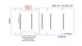 Citroen Jumper L4 Boden Ladungssicherungs - Schienen 5x