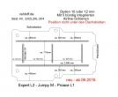 Citroen Jumpy M Boden mit 5 Ladungssicherungs-Schienen L2 neu T204