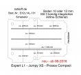 Peugeot Expert L1 Boden mit 3 Ladungssicherungs-Schienen L1 neu T301