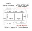 Toyota Proace compact neu ab 06-2016,  Boden mit 5 Ladungssicherungs-Schienen L1 neu T204