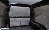 Caddy Seitenverkleidung aus Aluminium - Lochblech - L1 kurz