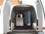 Caddy Verkleidung aus Kunststoff mit vollflächig verkleideten Türen - L1 kurz - Typ 3