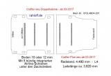 MAN TGE - Crafter Plus - Doppelkabine - Bodenplatte mit 5 Zurrschienen quer - L4 - 201
