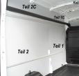 Transit Laderaumverkleidung Seite hinten links ganz oben Teil 2C