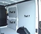 Transit Laderaumverkleidung Seite hinten rechts Teil 7