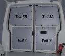 T5 T6 Laderaumverkleidung Tür hinten links unten Teil 3